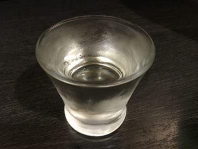 冷えすぎた日本酒