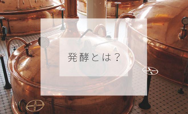 発酵とは?