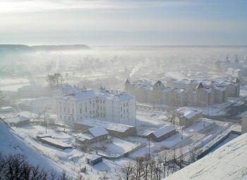 雪が降る寒い地域