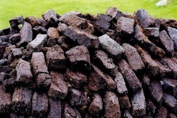 泥炭の一種であるピート