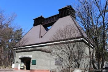 ウイスキー博物館の外観