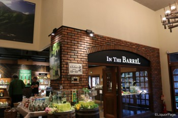 中の売店「In THe Barrel」