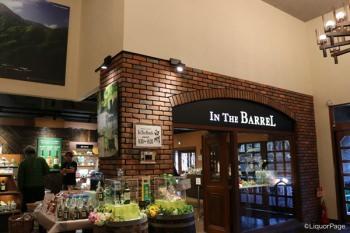中の売店「In THe Barrel」