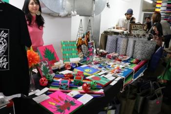 お土産・物販エリアで販売されていたメキシコの工芸品