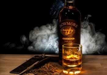 スモーキーフレーバーの強いウイスキー
