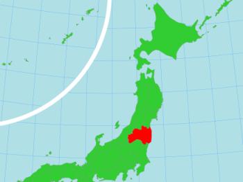 福島県の位置