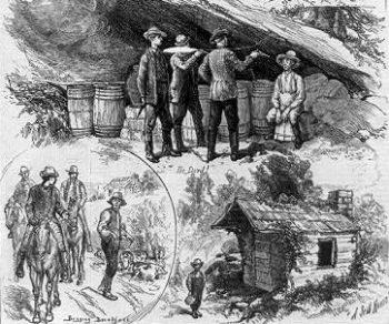 樽熟成は密造酒を隠しておく手段だった。