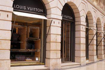 ヴィトンの路面店