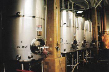 ビールの発酵タンク
