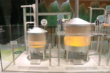 ビール製造設備の巨大パノラマ
