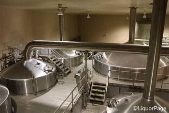 ビールの仕込釜