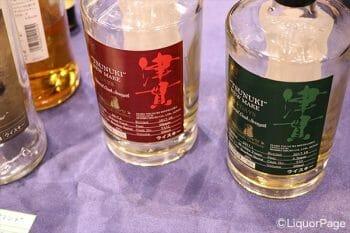 本坊酒造(マルスウイスキー)のブースでもごく短期間熟成の原酒が提供されていた。しかも操業したての津貫蒸留所の原酒。