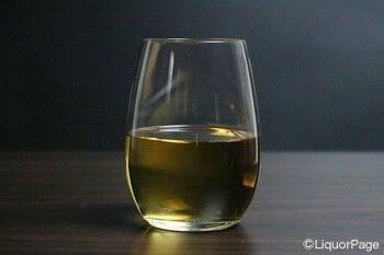 トワイスアップにしたウイスキー