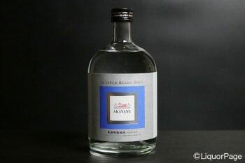 ジャパニーズクラフトジン・AKAYANEのボトル