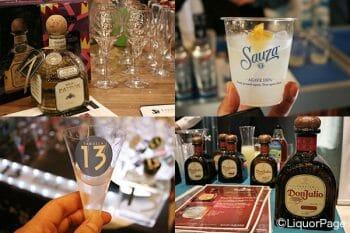 ローンチイベントではマルガリータや関連商品が振舞われた。