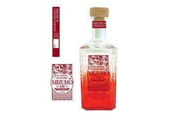 赤いボトルがTropical。©︎瑞穂酒造株式会社
