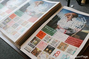 テキーラジャーナルの紙面はとてもキャッチー。