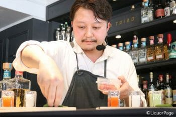 山川俊太氏(Cocktailante OBORO、東京)