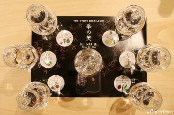 異なるボタニカル・グループからできた6つの原酒は、当然味わいも全く異なる。