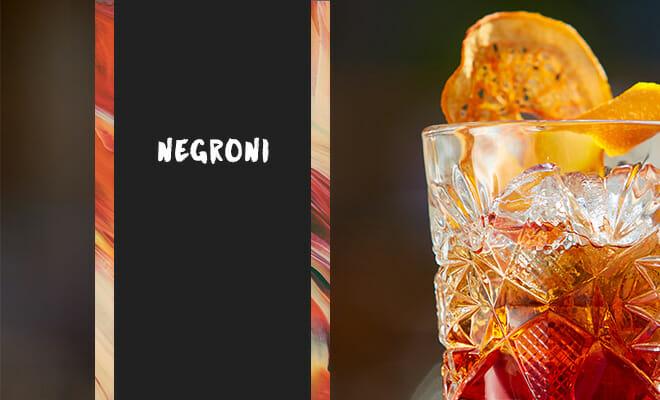 今世界的にブームのカクテル「ネグローニ」特徴、レシピ、魅力をご紹介