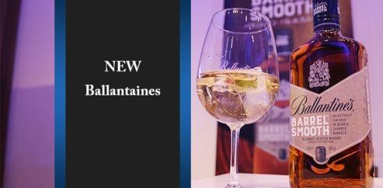 大人気スコッチ・バランタインの新商品「バレルスムース」が発売!オススメの飲み方はオリジナルの…?
