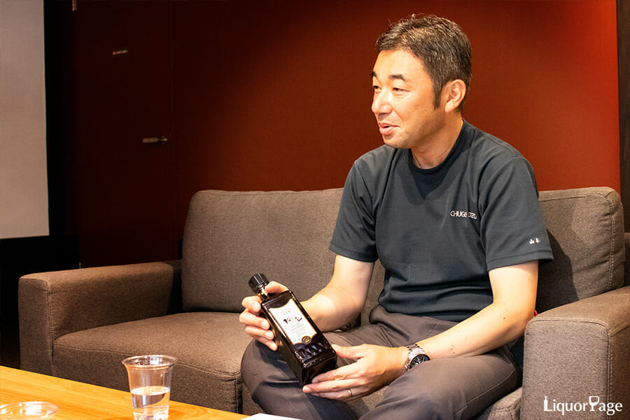 SAKURAO GINの開発を主導した山本さん