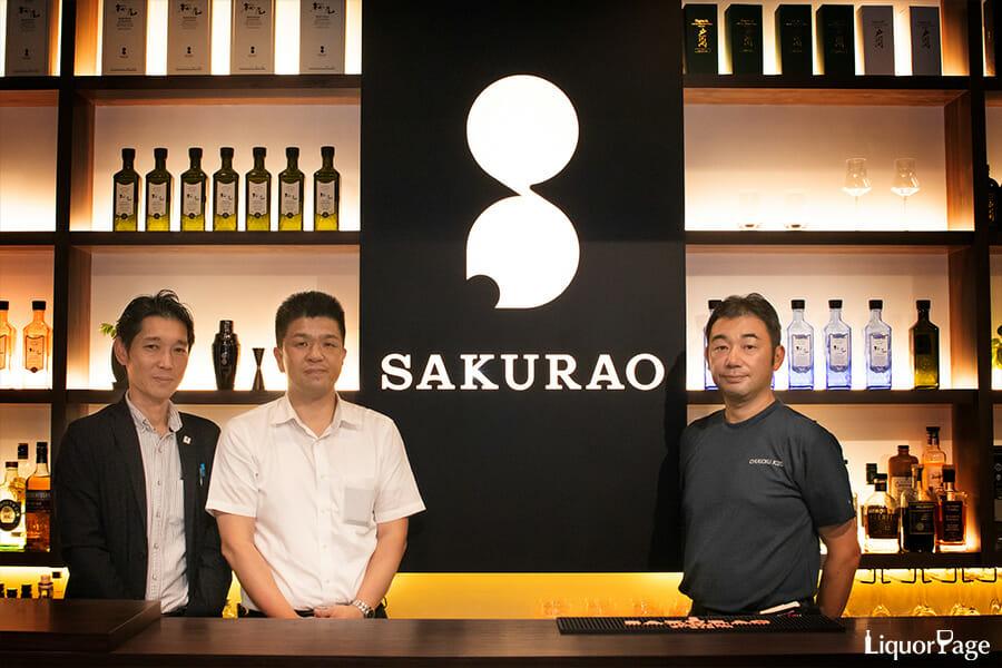 取材に協力いただいた中国醸造の3人