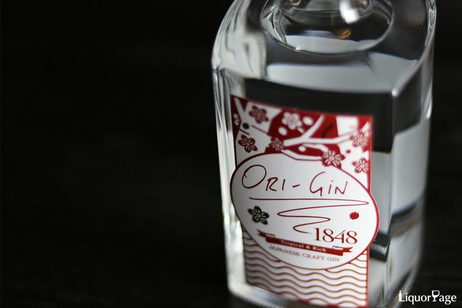 ORI-GiN 1848のボトル