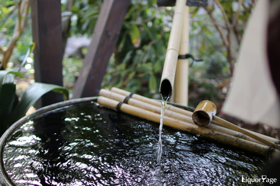 焼酎の割水に使用される水