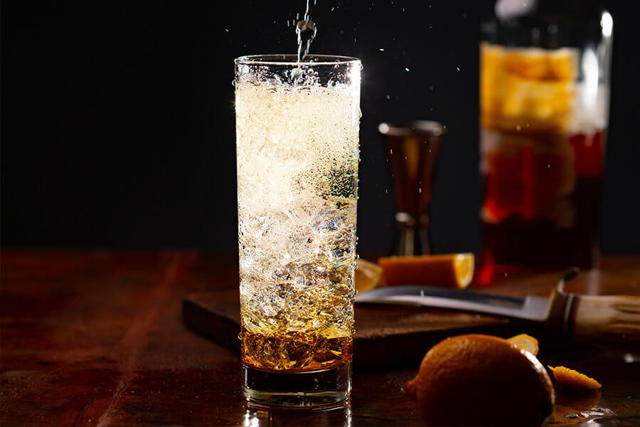 ウイスキーのソーダ割り