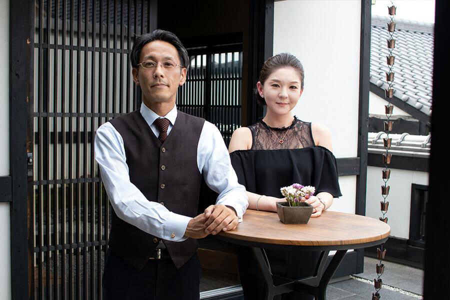 企画者の齊藤泰史さんとメンバーの垣内亜希さん