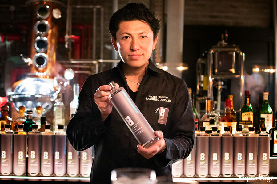 NUMBER EIGHT DISTILLERY蒸溜責任者・深水稔大さん