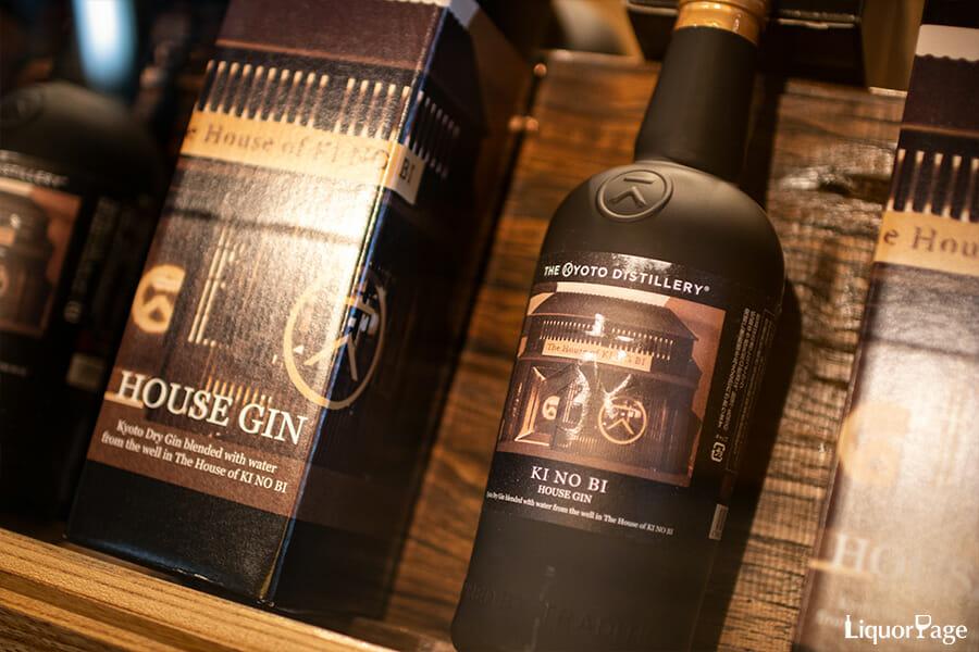 季の美ハウス限定のボトル「季の美 ハウスジン」