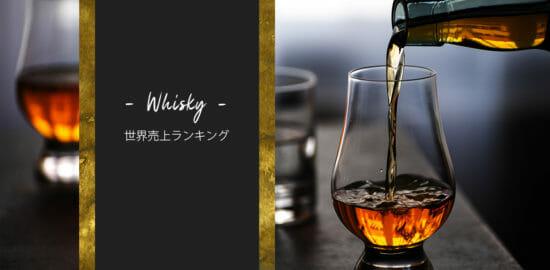 全世界のウイスキー売上ランキングTOP30【2020版】