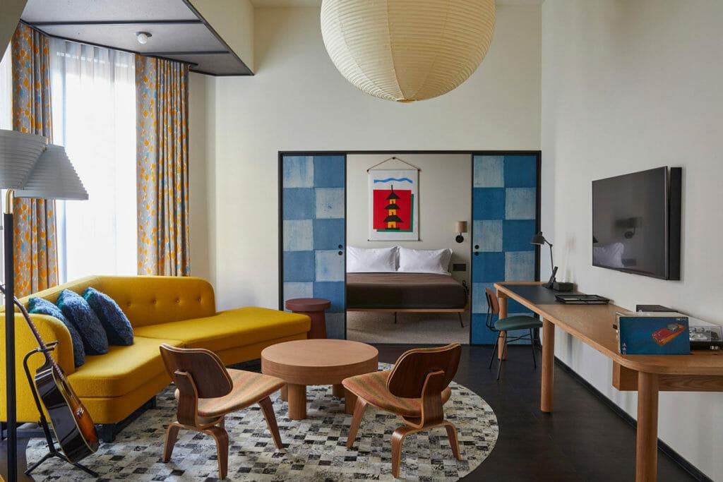 エースホテル京都の客室