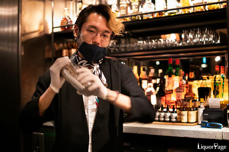 齊藤さんは若手スターバーテンダーの一人でもある