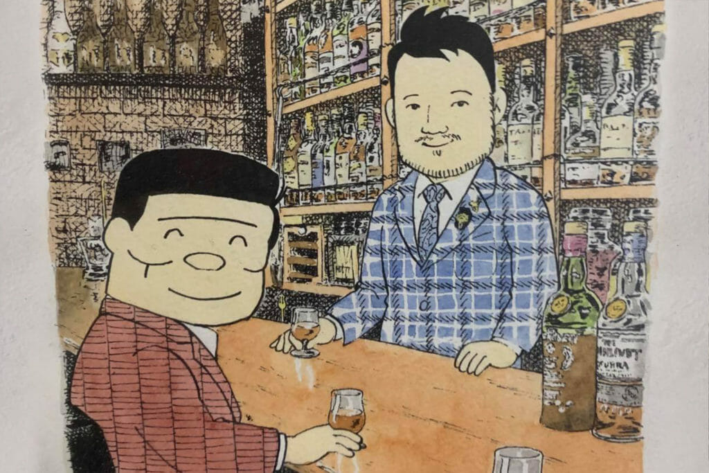 BAR LIVET / BAR Shinjuku Whisky Salon (静谷和典)