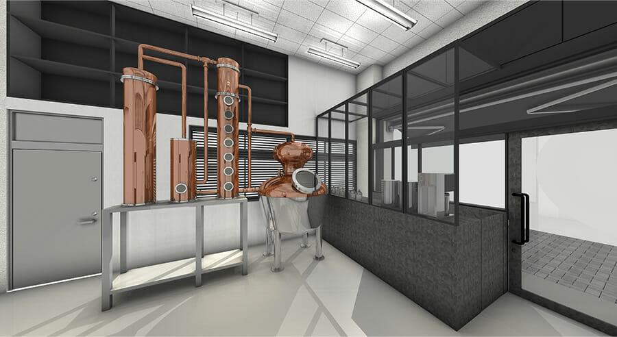導入予定の最新型蒸溜器のイメージ