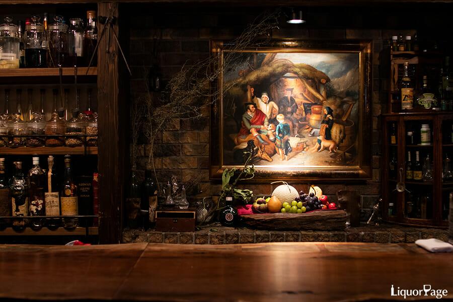 Bar Benfiddichでは、鹿山さん自ら育てたボタニカルなどをカクテルに用いる「Farm to glass」を実践している