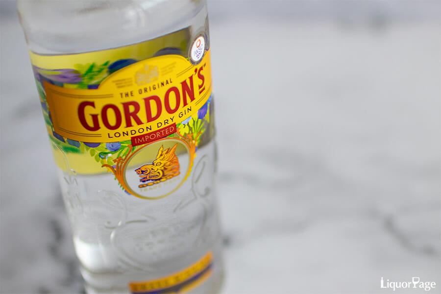 ゴードン ジンのボトル