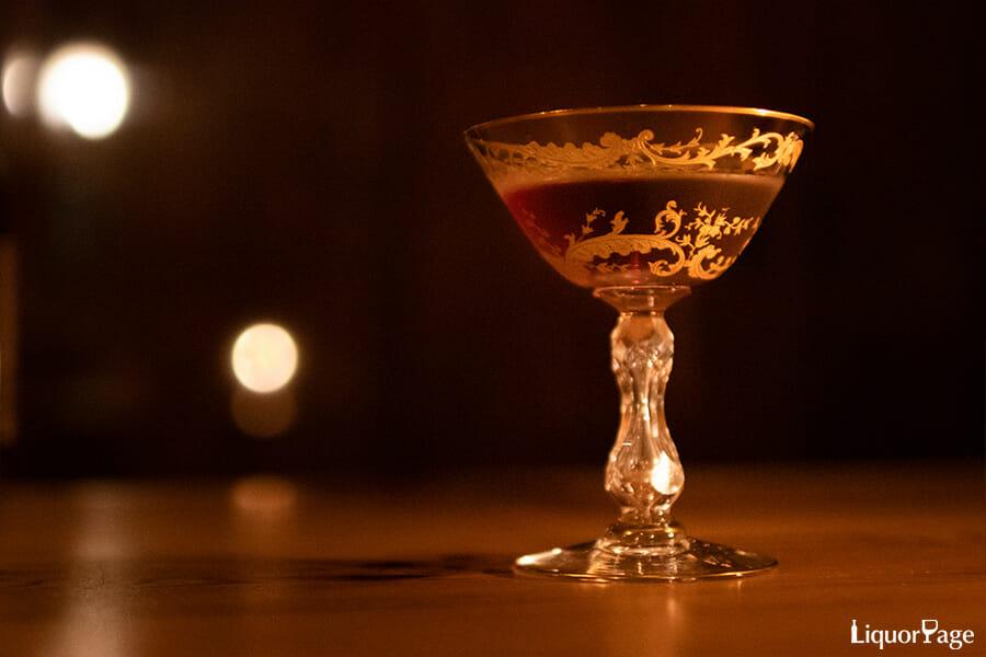 Bar Liquid Rubyのマンハッタン