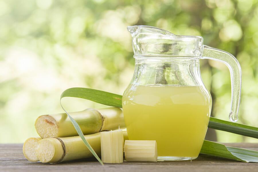 アグリコール製法ではサトウキビジュースを使用する