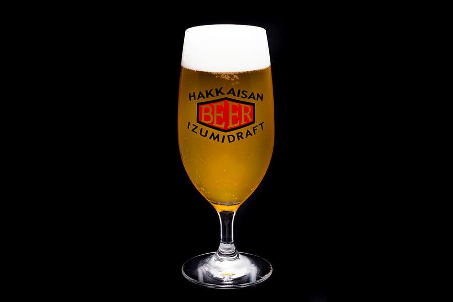 八海山の生ビール