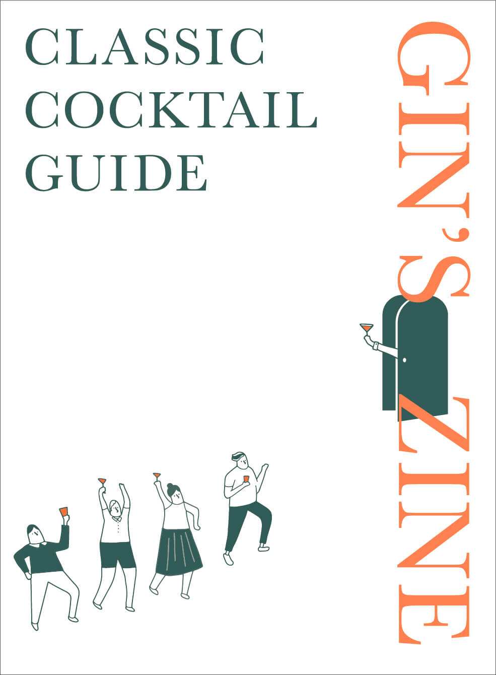 GIN'S ZINE CLASSIC COCKTAIL GUIDE