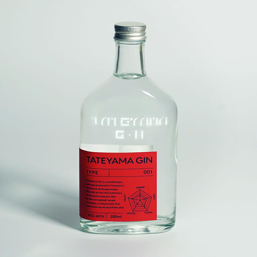 「TATEYAMA GIN」ブレンドシリーズ オリジナルブレンド「001」