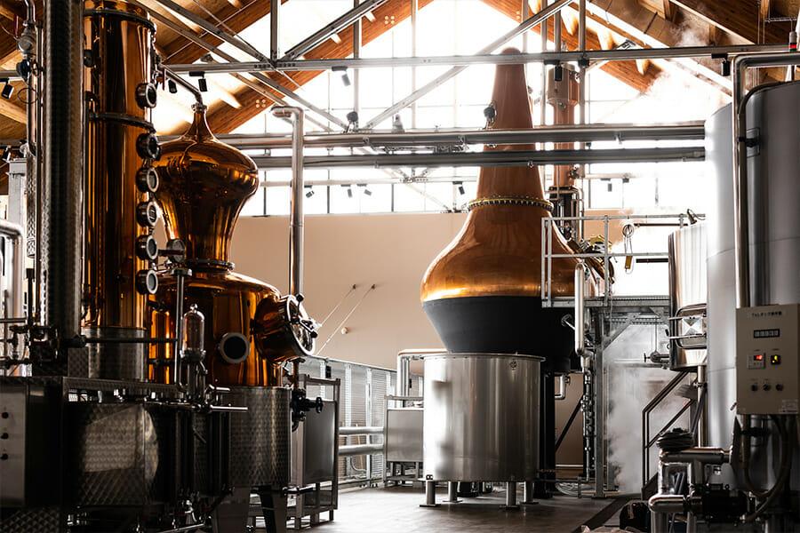 ジン用のホルスタイン社の蒸溜器